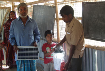 Solar light distribution